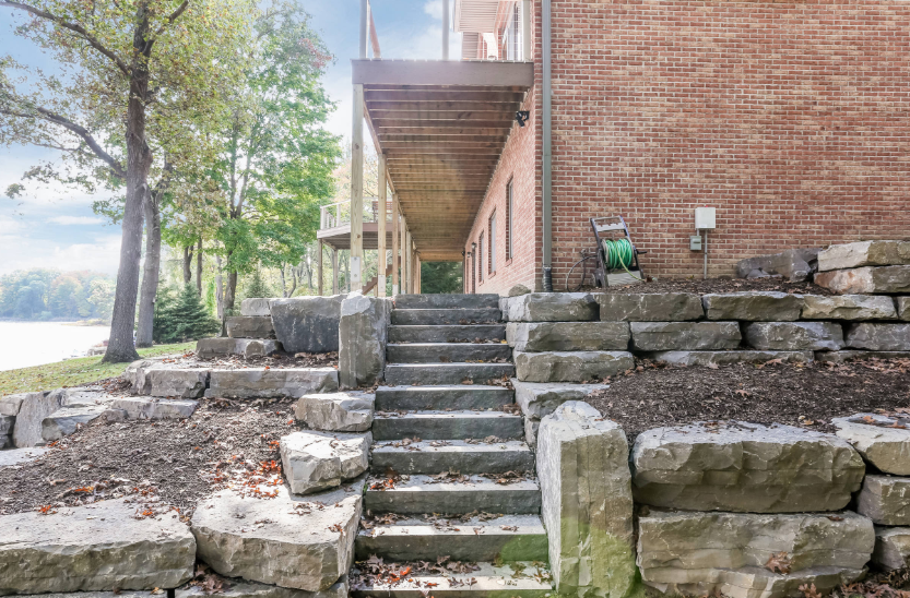 Unique Ways to Include Boulders in Your Bloomfield Township, MI, Landscape Design
