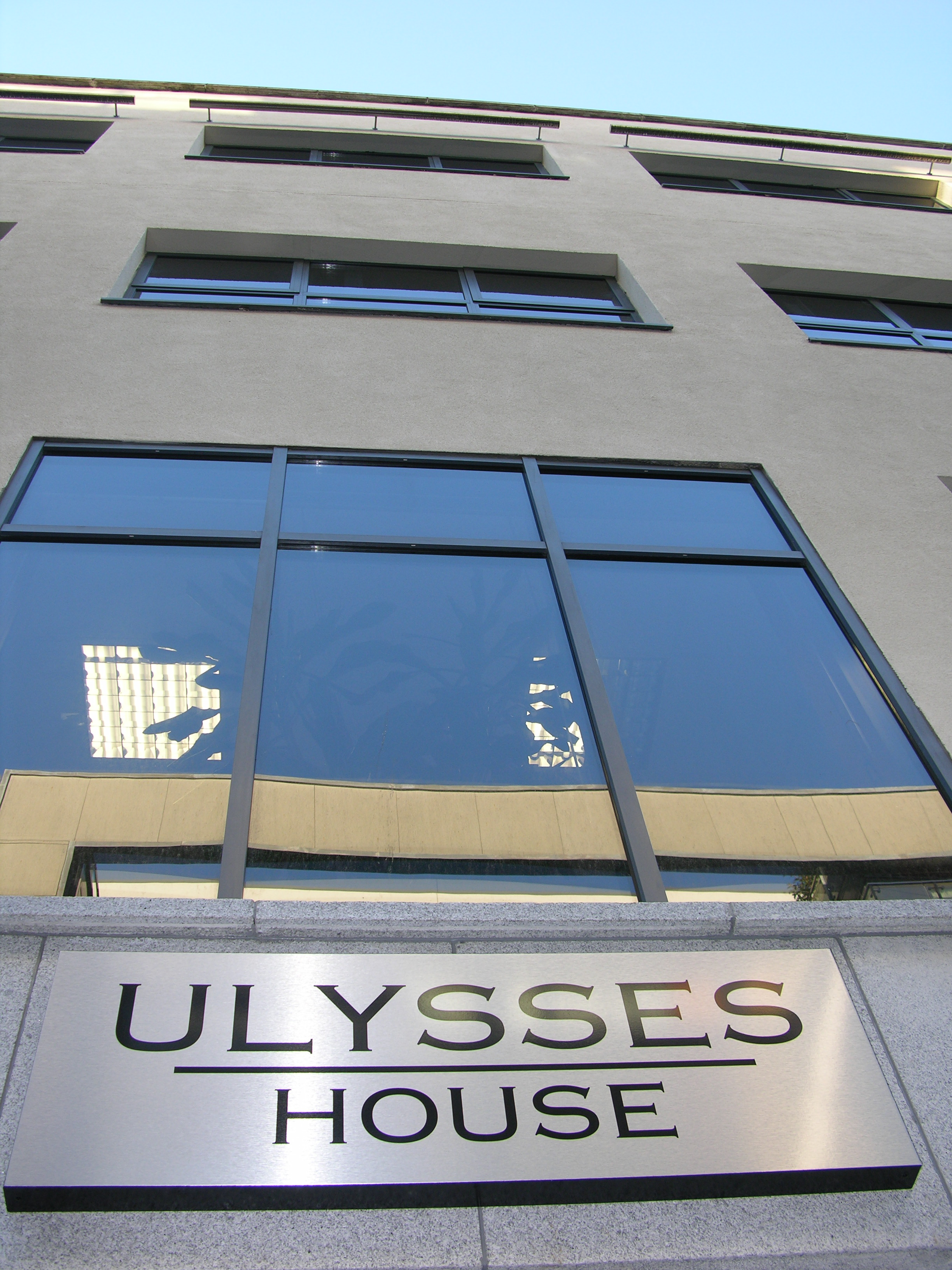New offices at Ulysses House - Moved into in 2005