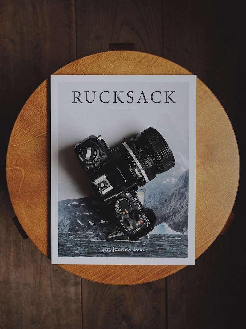 Rucksack magazine x The Level Collective journal volume 1 flatlay.jpg