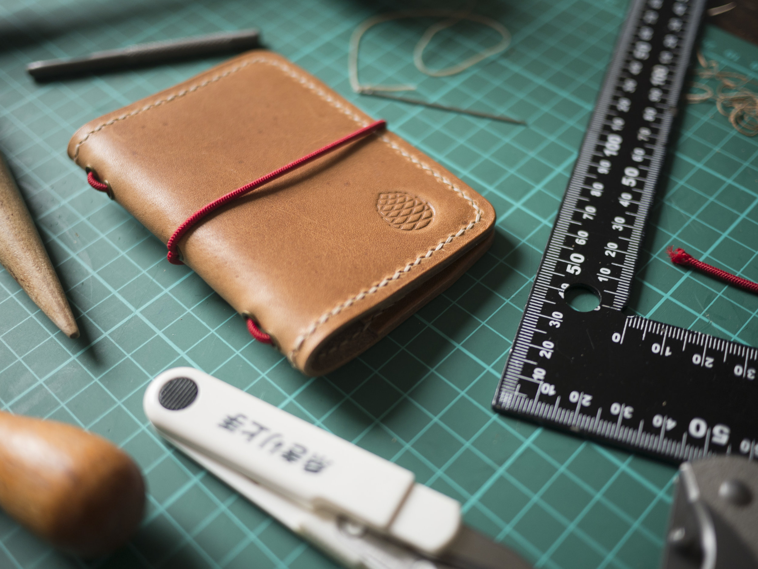 Handmade in Sheffield - We spent a thoroughly enjoyable morning with James from Flat leather documenting our wallets being handmade from scratch.View photojournal
