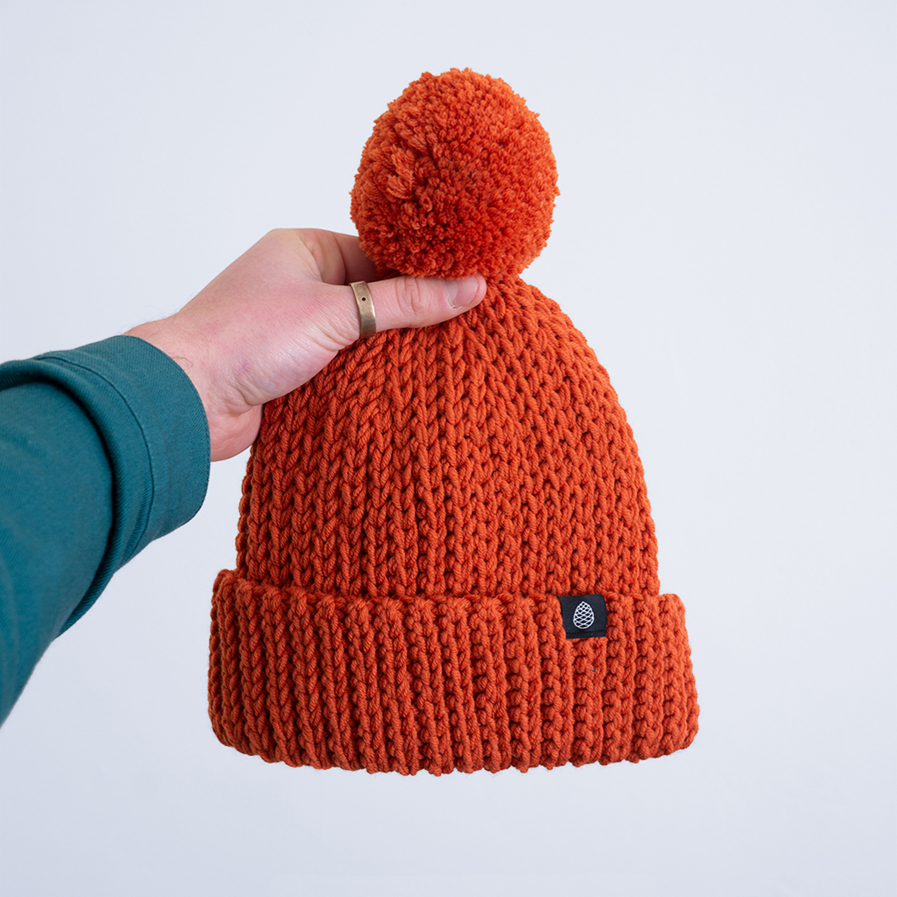 Our  Big Bob beanies  – hand knitted in Romania in collaboration with Dece