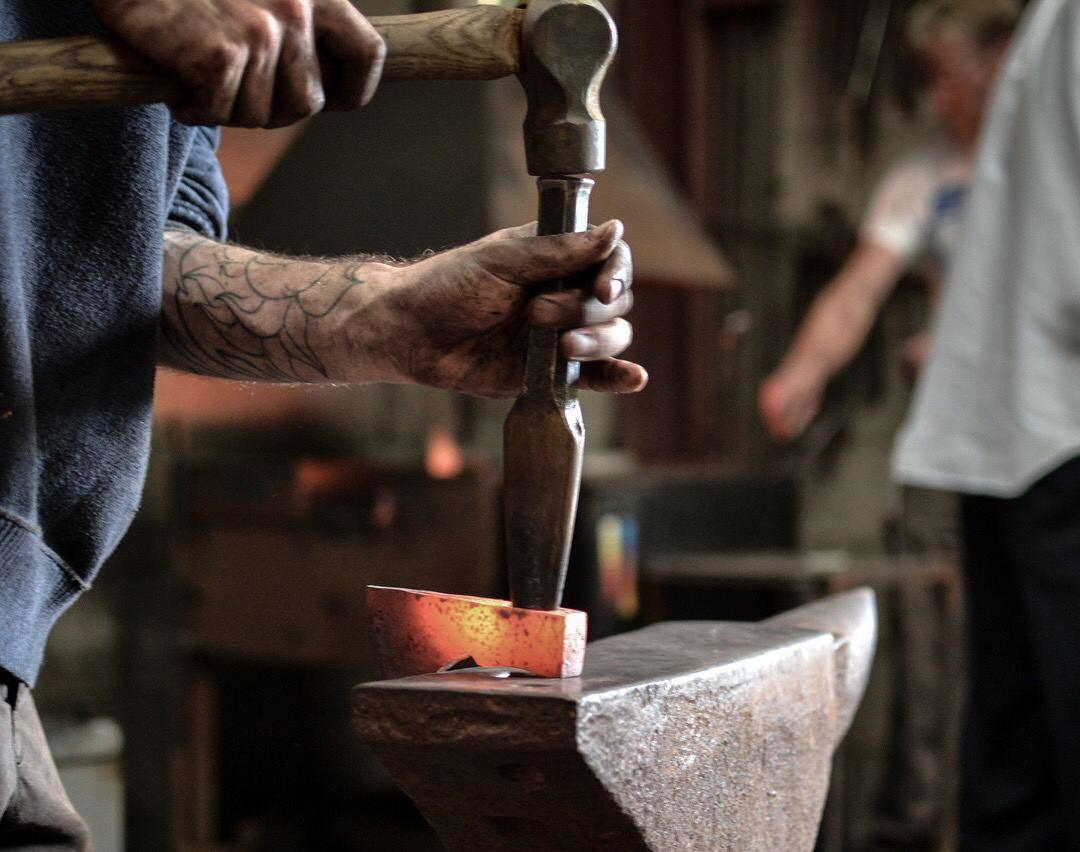 Hand forged in Somerset - For all your campfire and log burner wood cutting and carving requirements. Hand made from the finest quality, sustainably sourced ingredients.