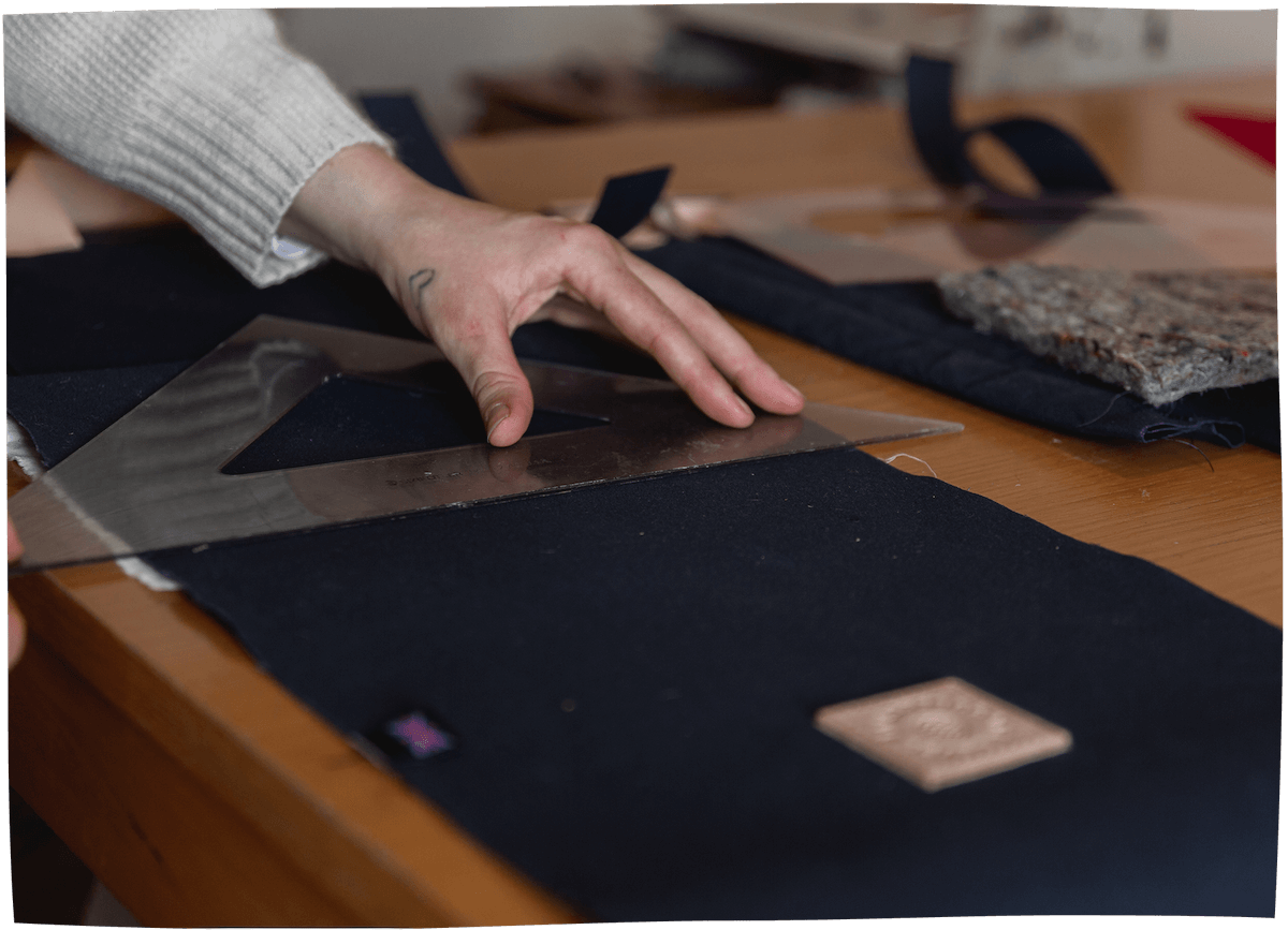 Making our clothing - Our products are handmade in small batches in collaboration with artists and makers – with minimal impact to our planet. We Combine beauty and functionality.Read More