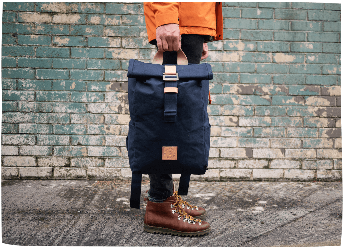 For the commute & wilderness pursuit. - Each of our organic backpacks are handmade in Sheffield, UK from the finest quality natural ingredients and are designed to gain beauty and character over the years – wear in, not wear out.