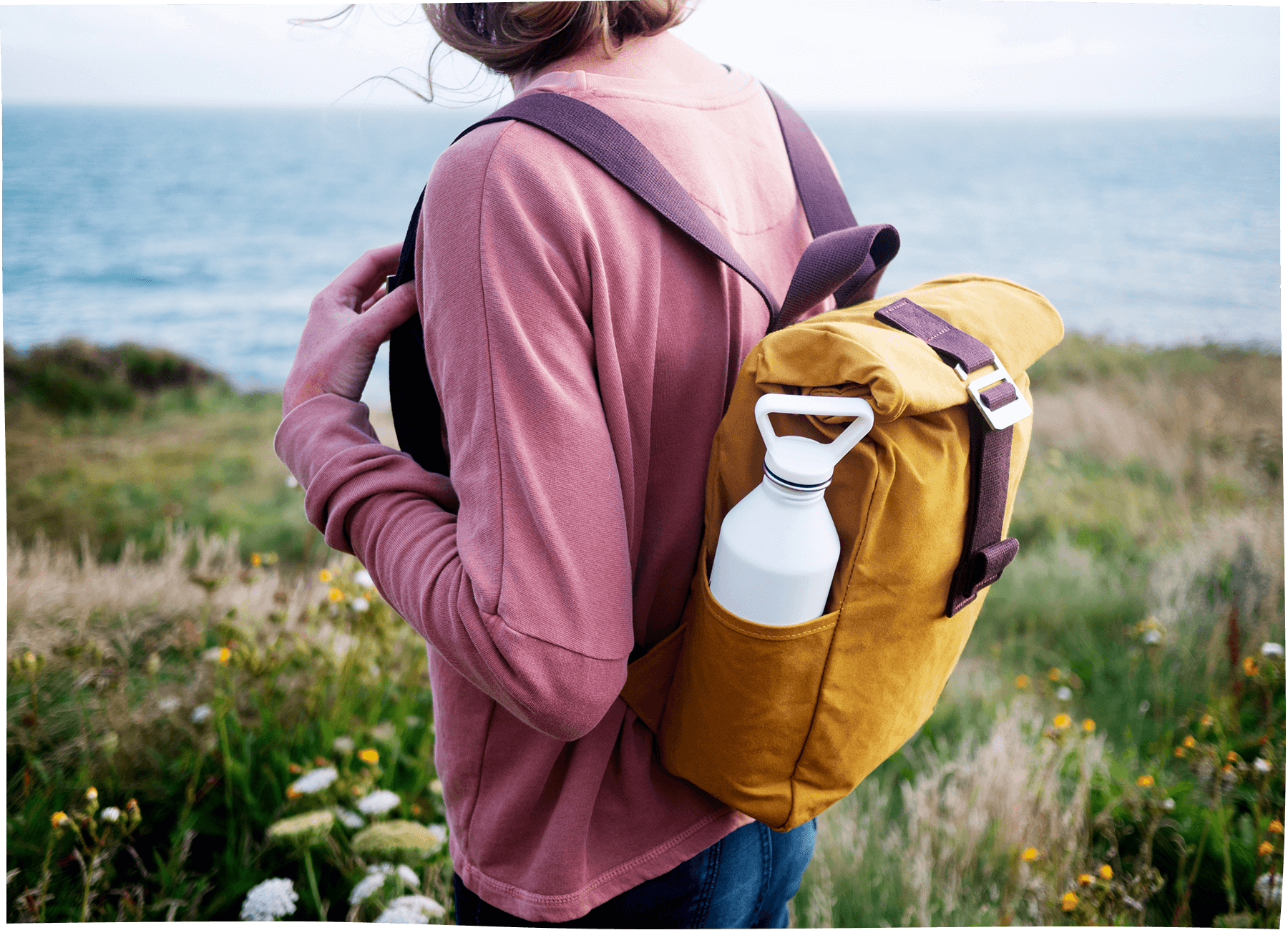 Roll-Top-mini-mustard-water-bottle-pouch-The-Level-Collective.png