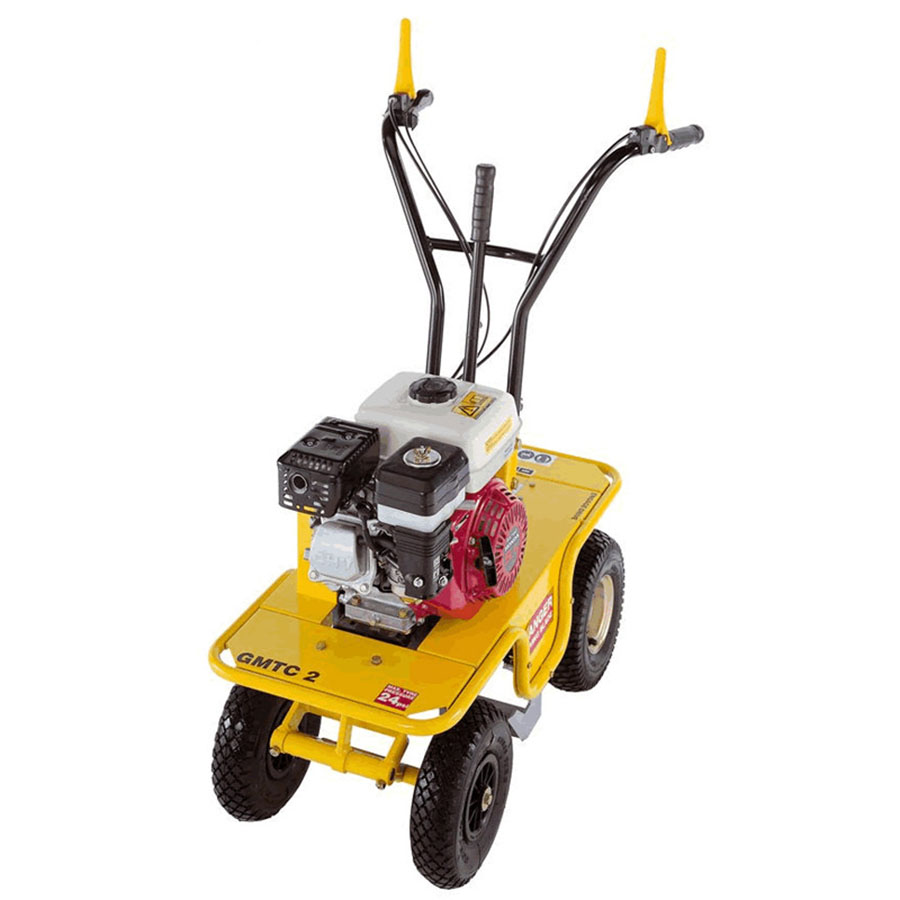 Garden Master GMTC2 - For Hire - Turf Cutter With Variable Depth - Honda GX160 Petrol Engine