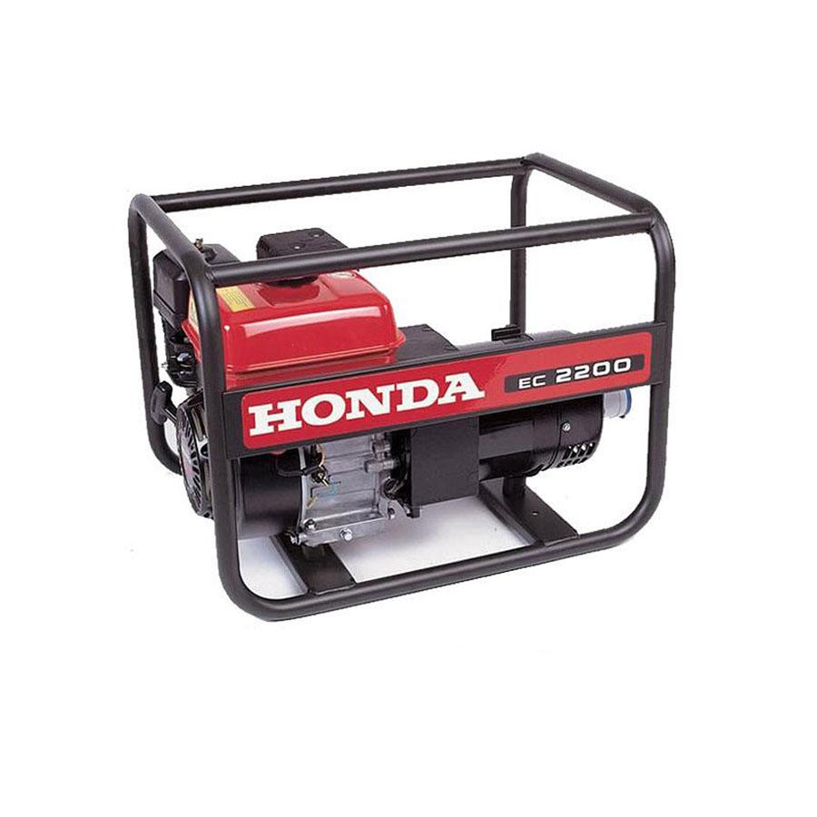 Honda EC2200 2kVA Portable Generator - For Hire - 110V & 230V 16A Outputs - GX160 Petrol Engine