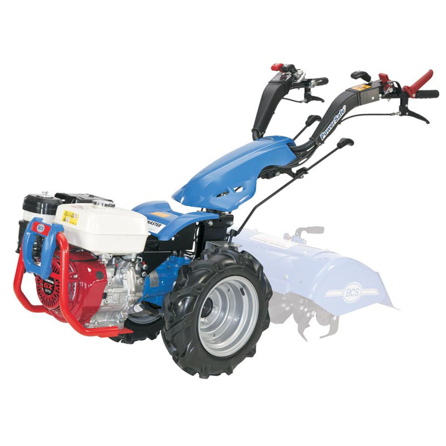 Tracmaster BCS 2 Wheel Tractor - For Hire - With Rotavator Attachment - Honda GX270 Petrol Engine