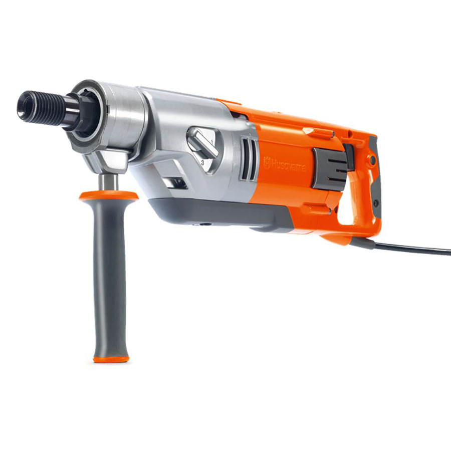 Husqvarna DM220 Handheld Diamond Core Drill - For Hire - For Holes Up To 80mm - Electric 110V