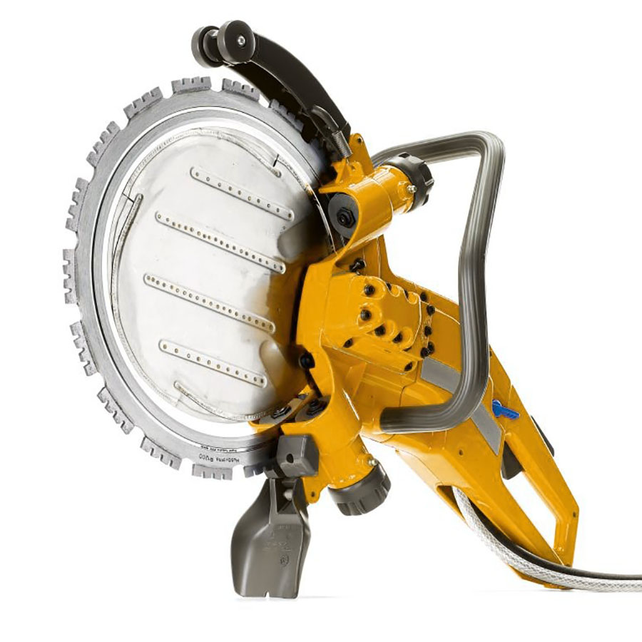 Partner K3500 Concrete Ring Cut-Off Saw - For Hire - 10 Inch Depth - Hydraulic Powered