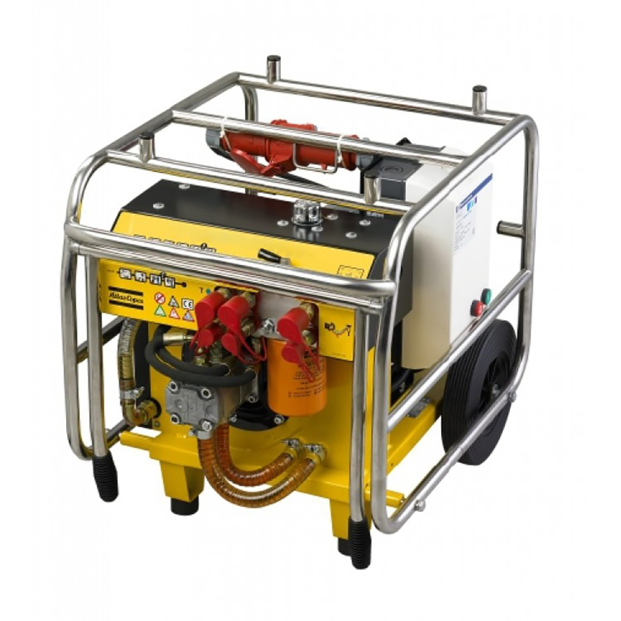 Gölz E18 Electric 3-Phase Indoor Hydraulic Power Pack Unit - For Hire - 140 Bar, 30/40 lpm