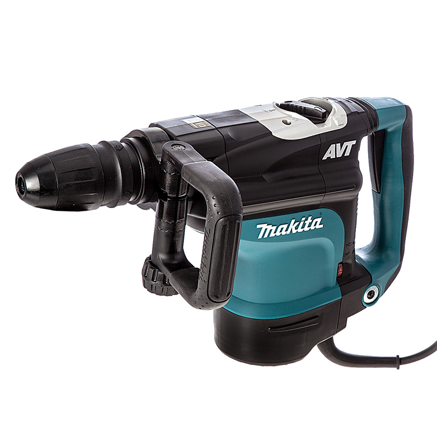 Makita HR4511C Rotary Demolition Hammer Drill - For Hire - With AVT - SDS Max, Electric 230V