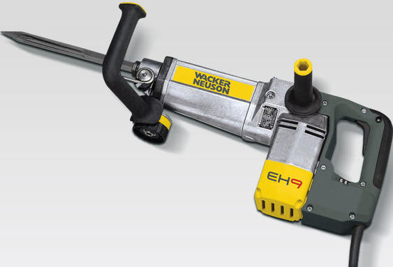Wacker EH9 EBM Rotary Demolition Hammer Drill - For Hire - 19mm Hex Shank, Electric 110V