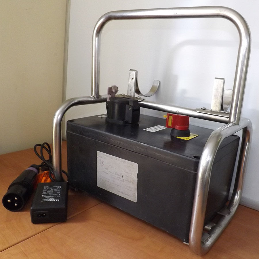 Safety Light Power Pack - Used - SA Combo ATEX Explosion Proof Zero Spark Safety Light Power Pack - 12V DC 4Ah