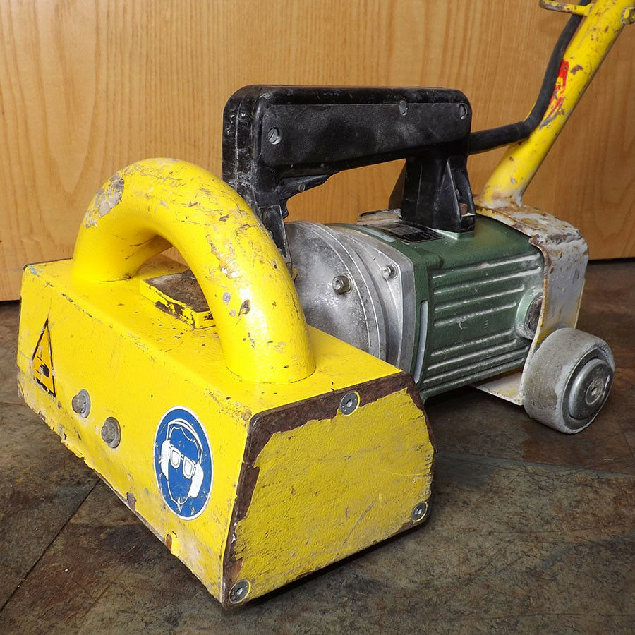 Airtec RC750 230V Roto Chipper - Used - Electric Hand Scarifier Rust Scale Paint Remover
