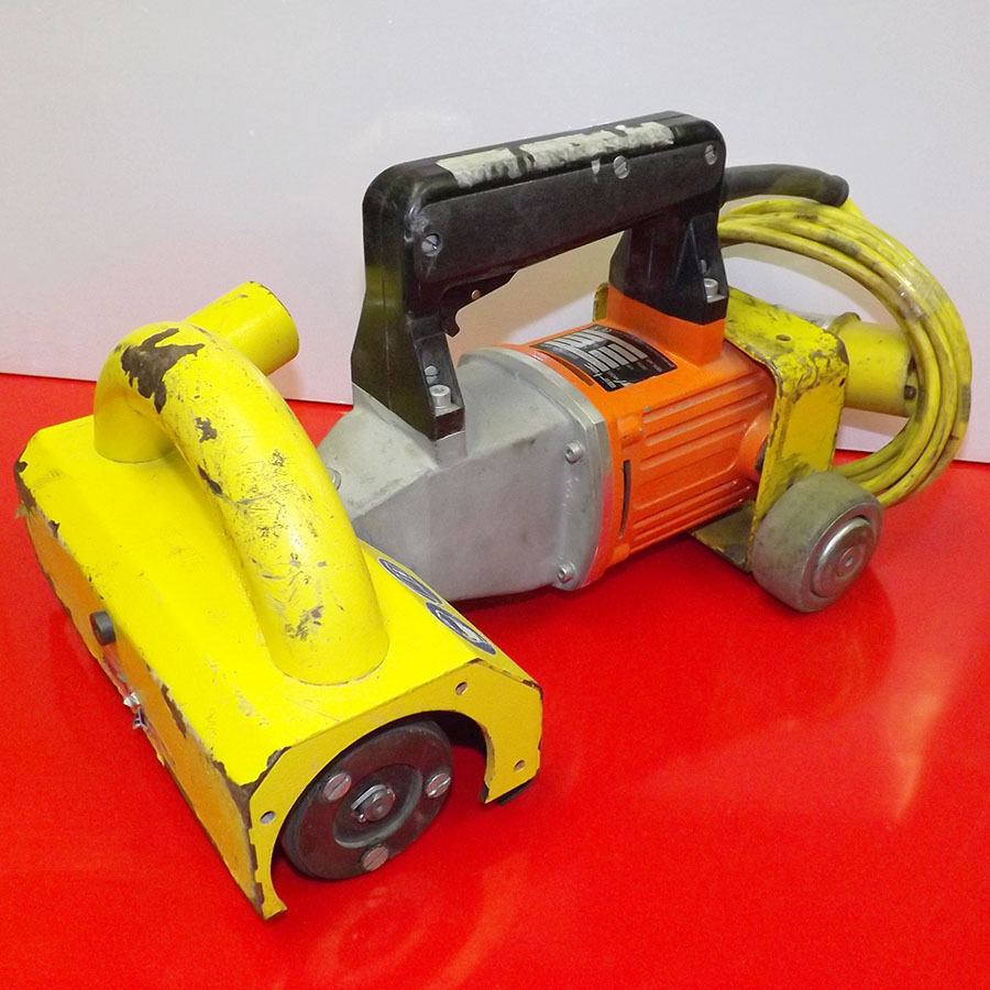 Airtec RC500 110V Roto Chipper - Used - Electric Hand Scarifier Rust Scale Paint Remover
