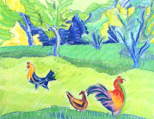 Brita Holmquist - Spring Chickens