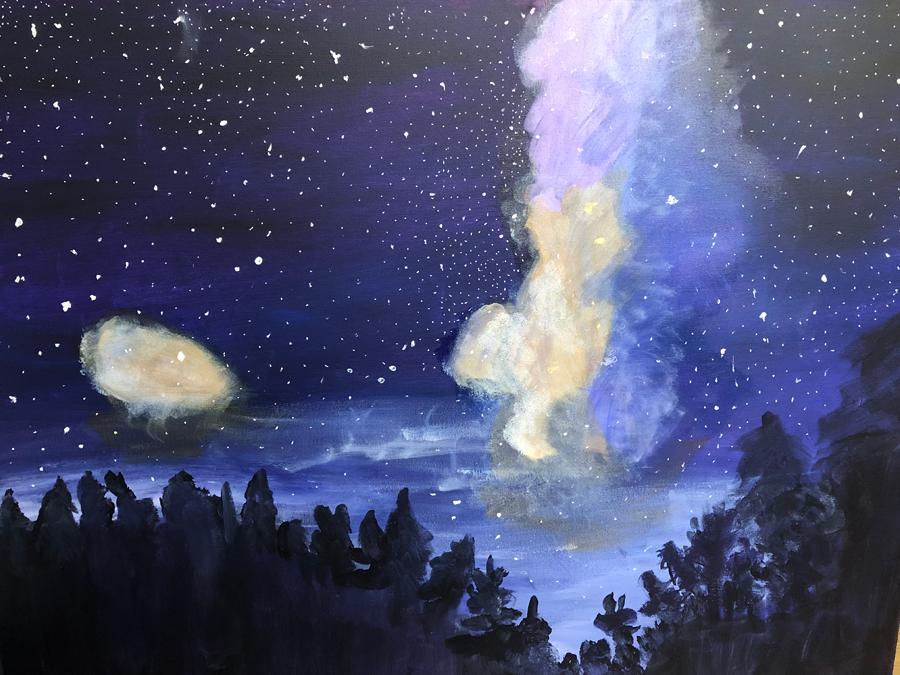 """Colorado Sky (2018) - 30"""" x 40"""""""