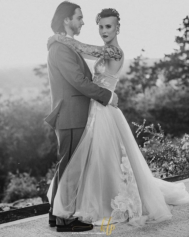 Y'all.... Can we say magazine cover or what?? @katiaforerophotography  captured Danielle and Aaron in such a beautiful and artistic way.  She had an awesome couple to work with which always helps. 😉  We are so lucky we got to be a part of this day.