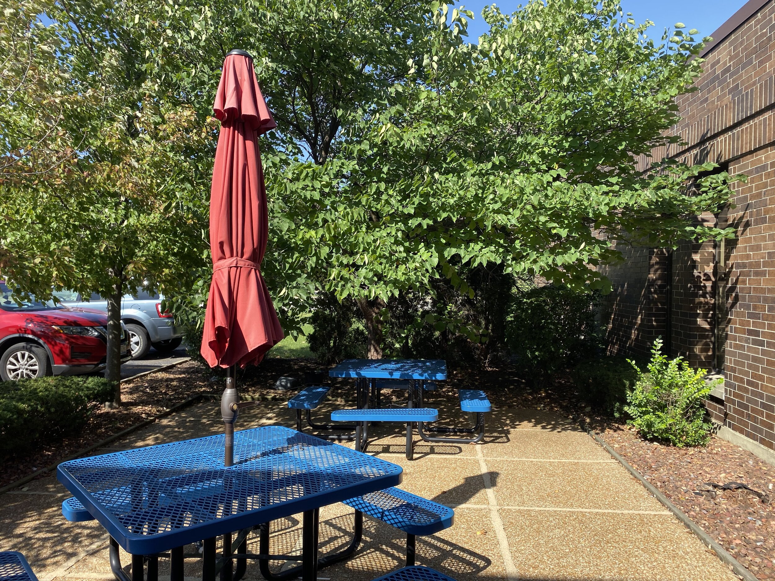 - The weather is getting colder as Autumn arrives, but we still get to enjoy lunches outside.