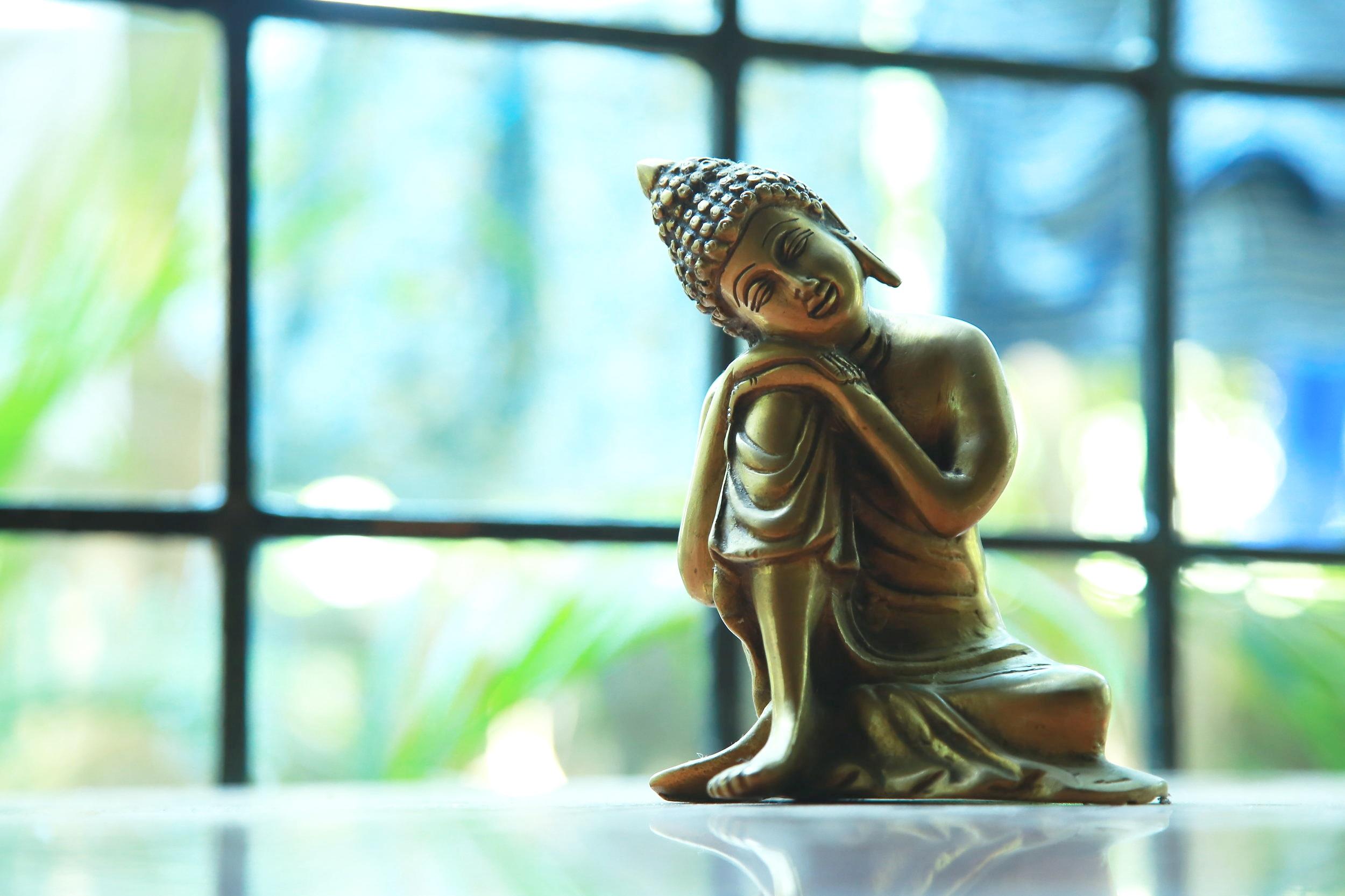 calm Buddha statue