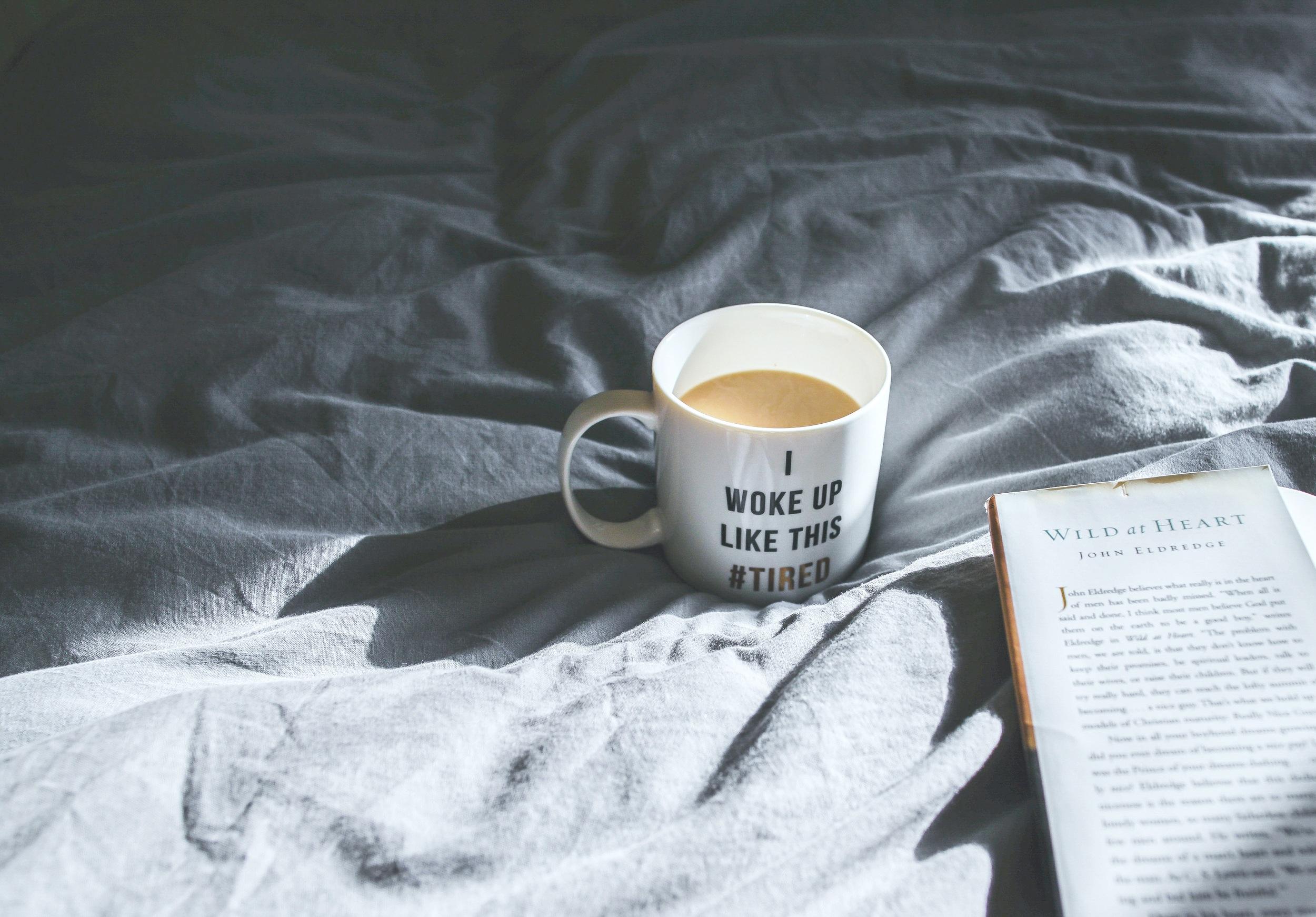 i woke up this tired mug