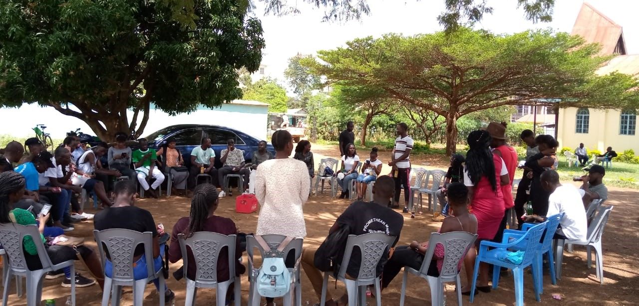 EDUCATING YOUTHS ON HOW TO CHANGE ENVIRONMENT.