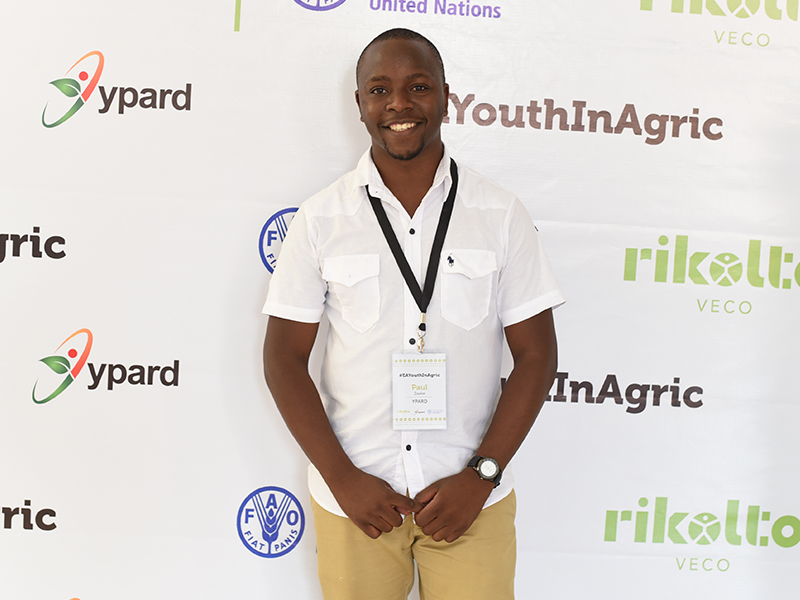 This is a photo of me. I have a Bachelor's degree in agriculture and soon finalizing my Master's degree in climate change and adaptation. Just after joining the University in 2011, I sought a new challenge in conserving the environment in my local communities. I co-founded Rakai Environmental Conservation Programme (RECO) and served as the Executive Director. In 2017, I became the country representative for YPARD. I am passionate about agriculture, environment and youths in Africa. While growing my work in my local communities, I have worked with international organizations YPARD, WISER Programme, Malterser International on various operational, technical, field works, and strategic issues related to agriculture, climate change and youths. Scope of my work activities has covered numerous countries including Uganda, Kenya, Tanzania, Ghana, Czech Republic, German, France and beyond.