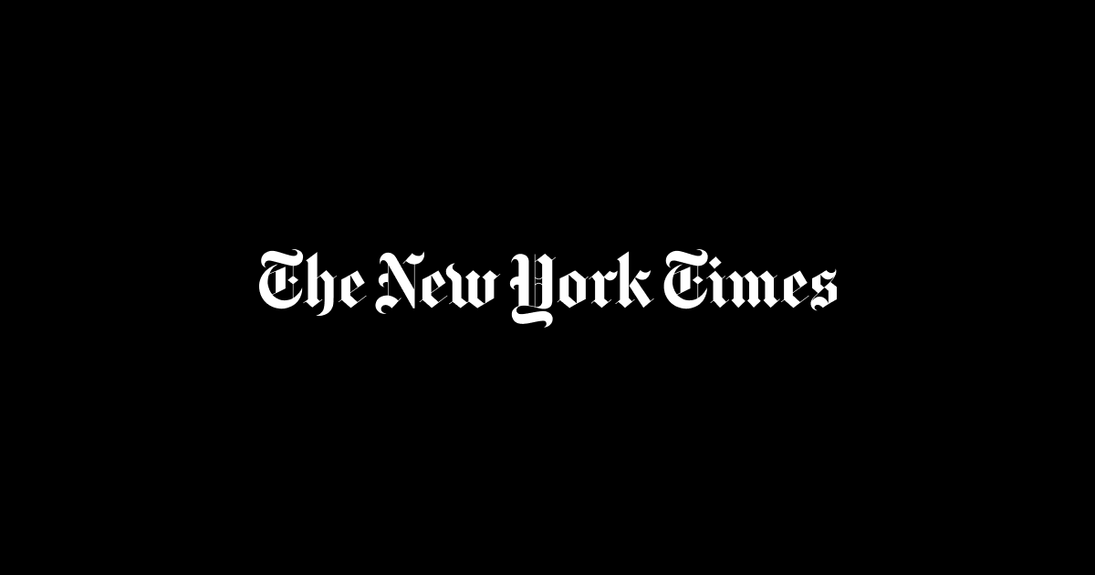 Read the article by clicking on the NYT logo, or here:  https://nyti.ms/2G8xI2p