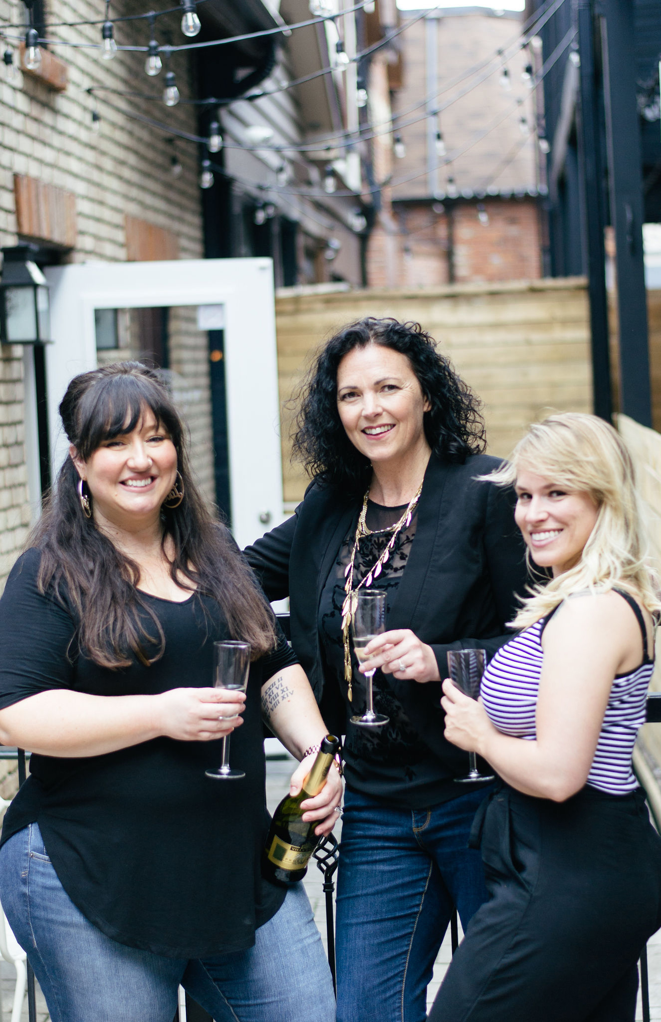 Founders Jessica Waugh, Jillian Bowman and Beth Marchant