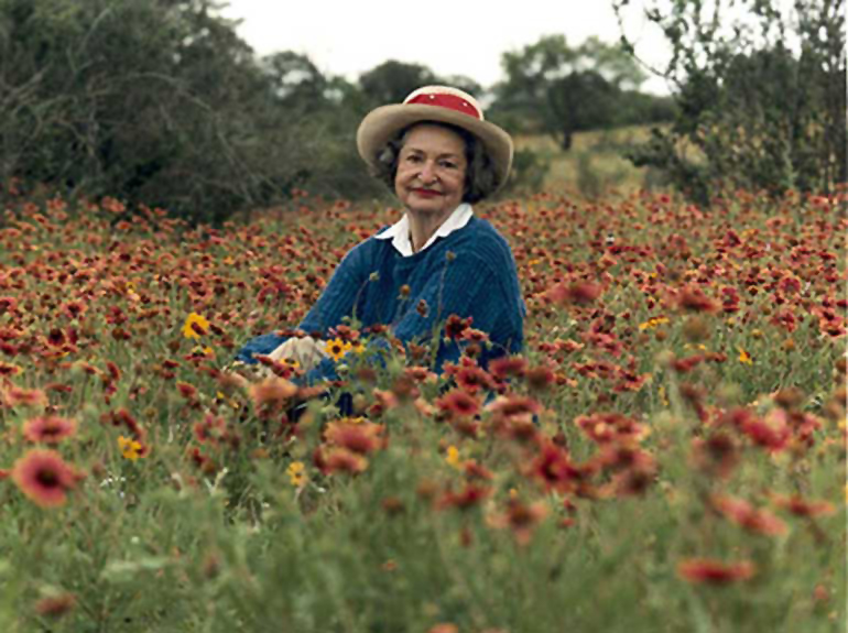 Conservation Heroes - My conservation heroes include Lady Bird Johnson. She worked to preserve natural beauty not only through legislation but also through her own personal efforts. As an homage to her in 2014, I drove from Washington, D.C. to Austin Texas following the route she regularly took while her husband was in office. She wrote that those road trips served as the impetus to pursue roadside wildflower plantings and minimize billboard construction. When I got to Texas, bluebonnet season was in full swing as I visited Lady Bird's beloved Hill Country.
