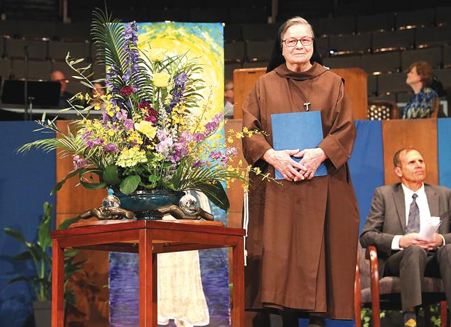 The Catholic Key , April 12  Sister Andrea Kantner, OSF, Presented with International Peace Award