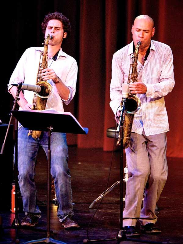 Ben and Joshua Redman, Stanford Jazz Festival