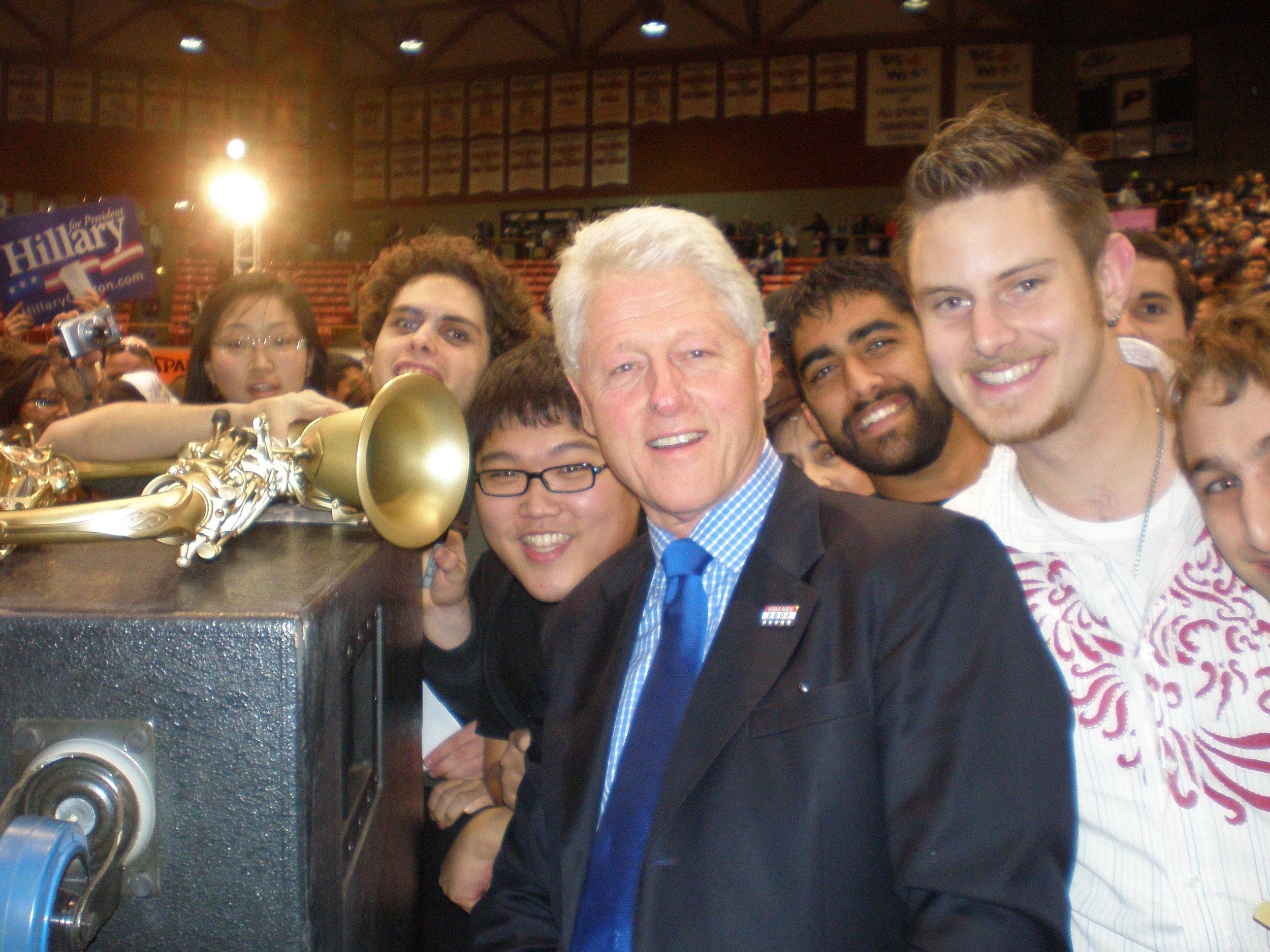 Ben and Bill Clinton