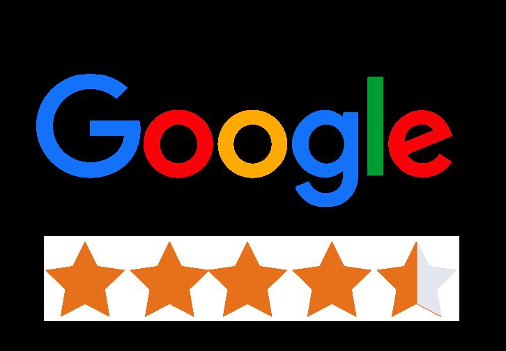 150 Google reviews -