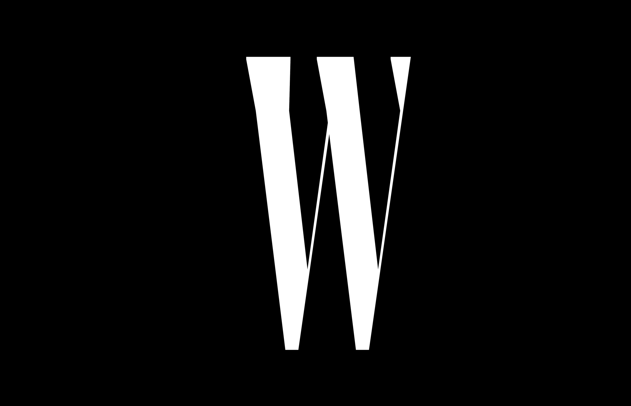 W MAGAZINE - Unbound by convention, W is an escape from the ordinary that sparks conversation and celebrates style through the lens of fashion, art, and entertainment.