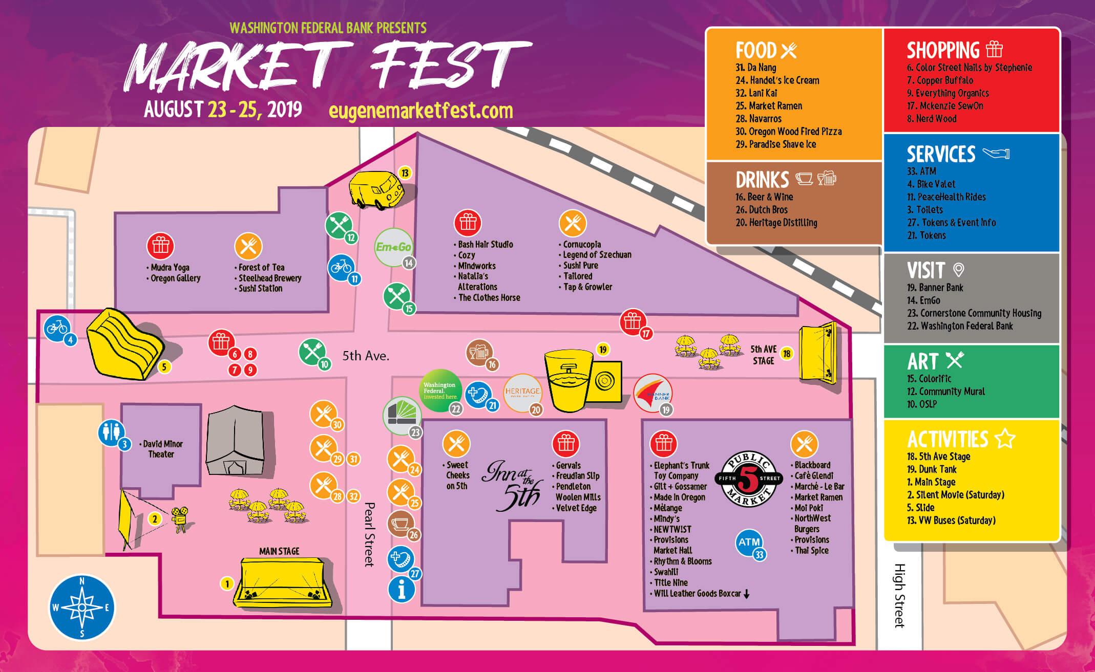 market fest event map