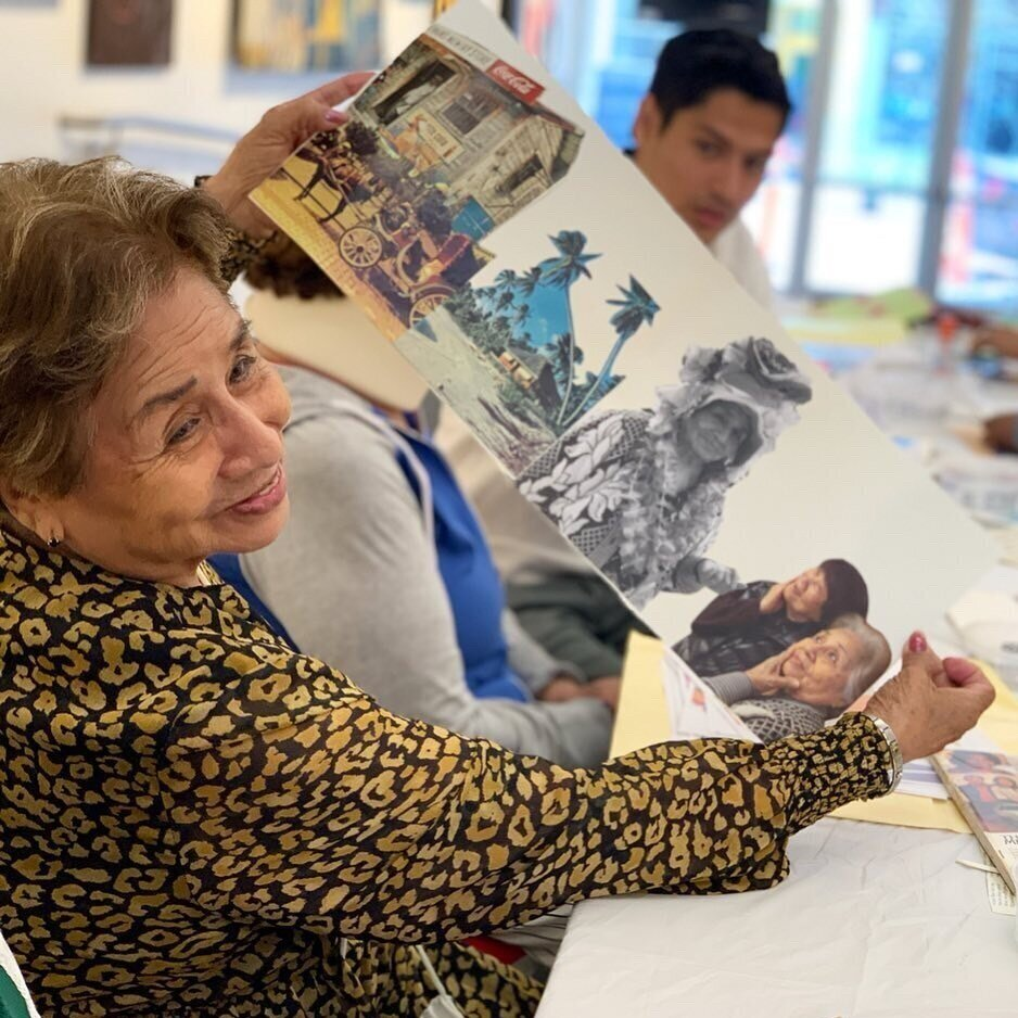 Weekly Creative Programs - Designed to appeal to the older adult population, our free weekly programs provide a welcoming and inspiring environment to engage with the arts through movement, painting, fiber arts, textiles, paper crafts, and other visual arts programs. Our programs promote positive aging, reduce isolation, encourage personal growth and well-being, and foster social connections.