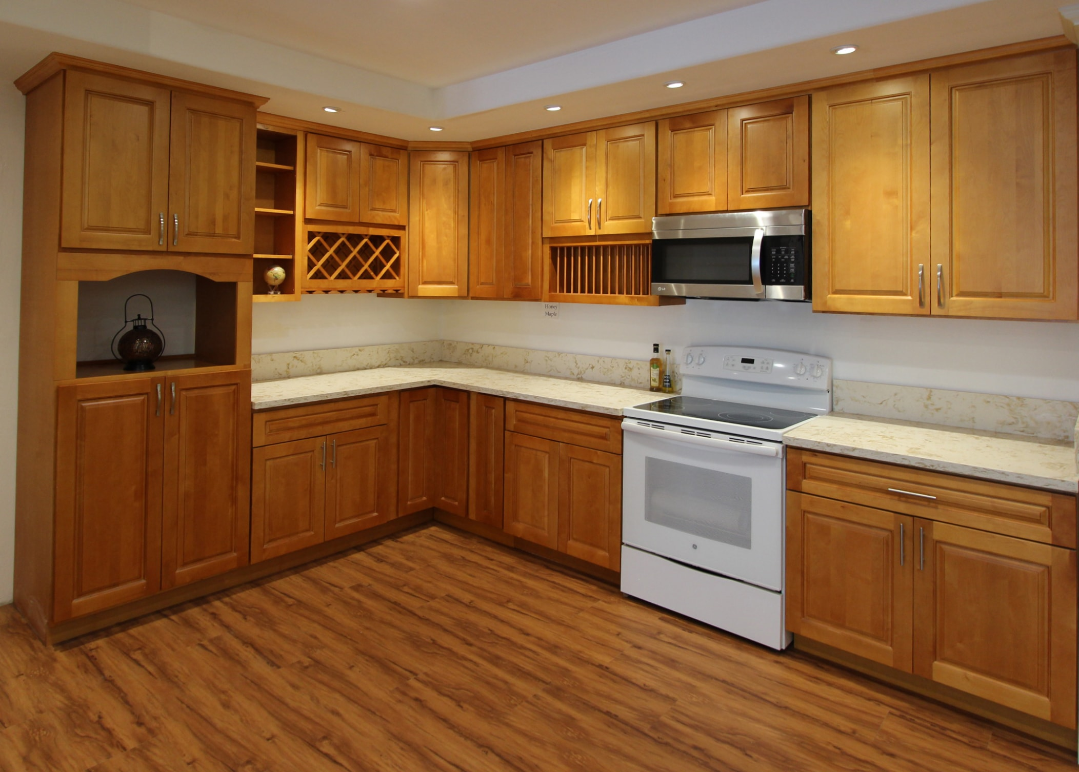 Cabinet Honey Maple