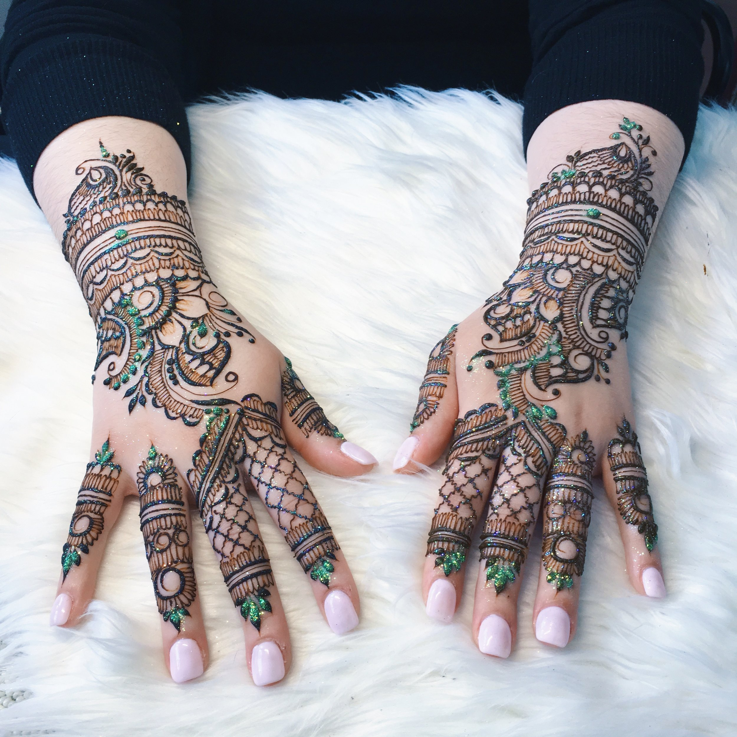 - Unwind with personalized henna designs. Reserved by appointment only, these sessions will elevate your mood and leave you with gorgeous, one-of-a-kind wearable art.