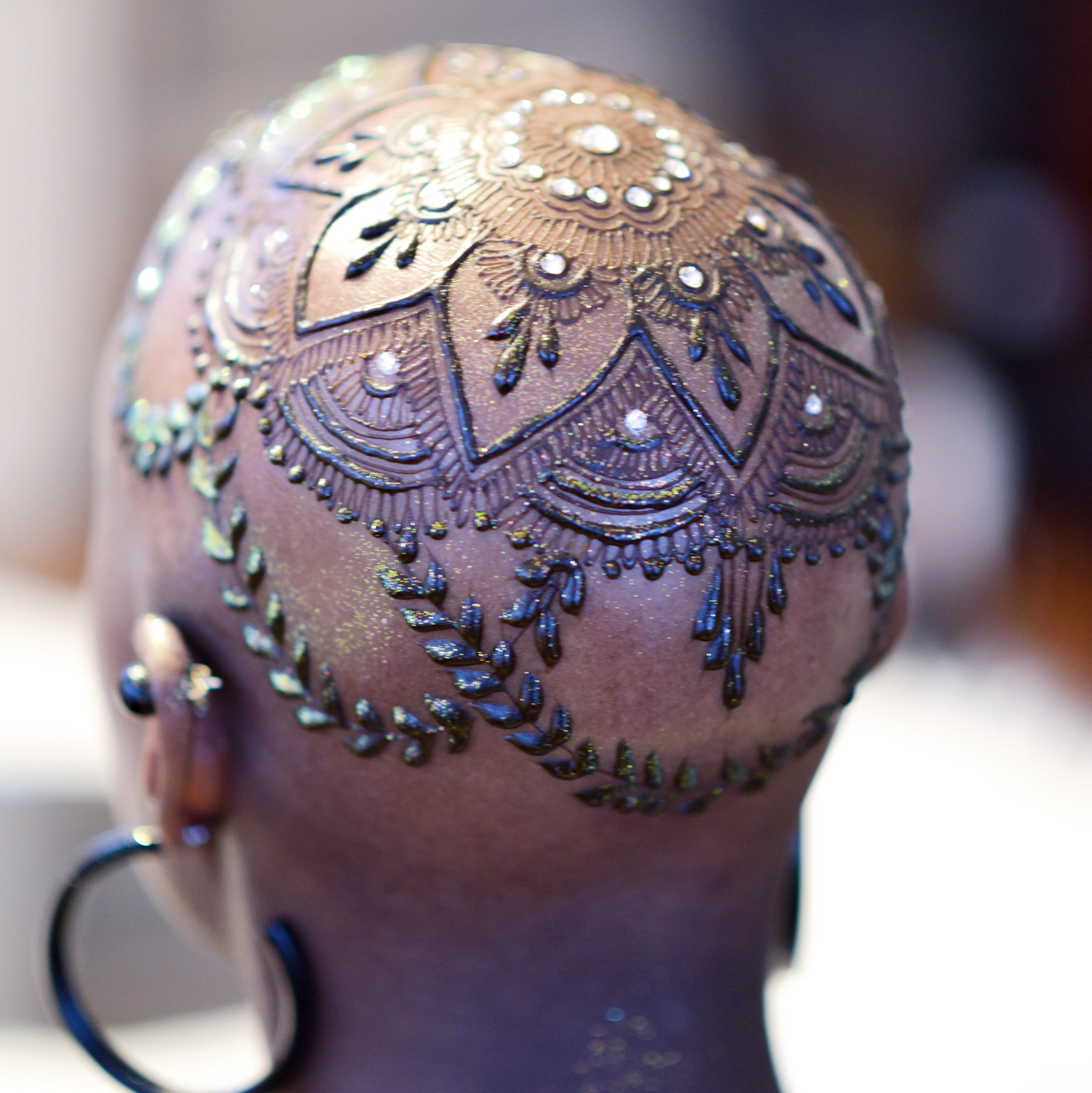 Maryland Henna Artist Henna Crown