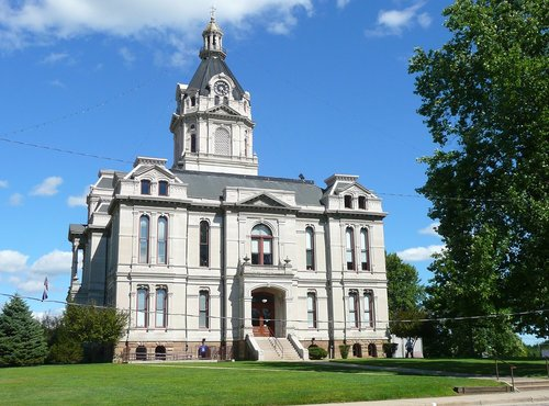 The Parke County Courthouse is among the most photographed courthouses in the U.S.