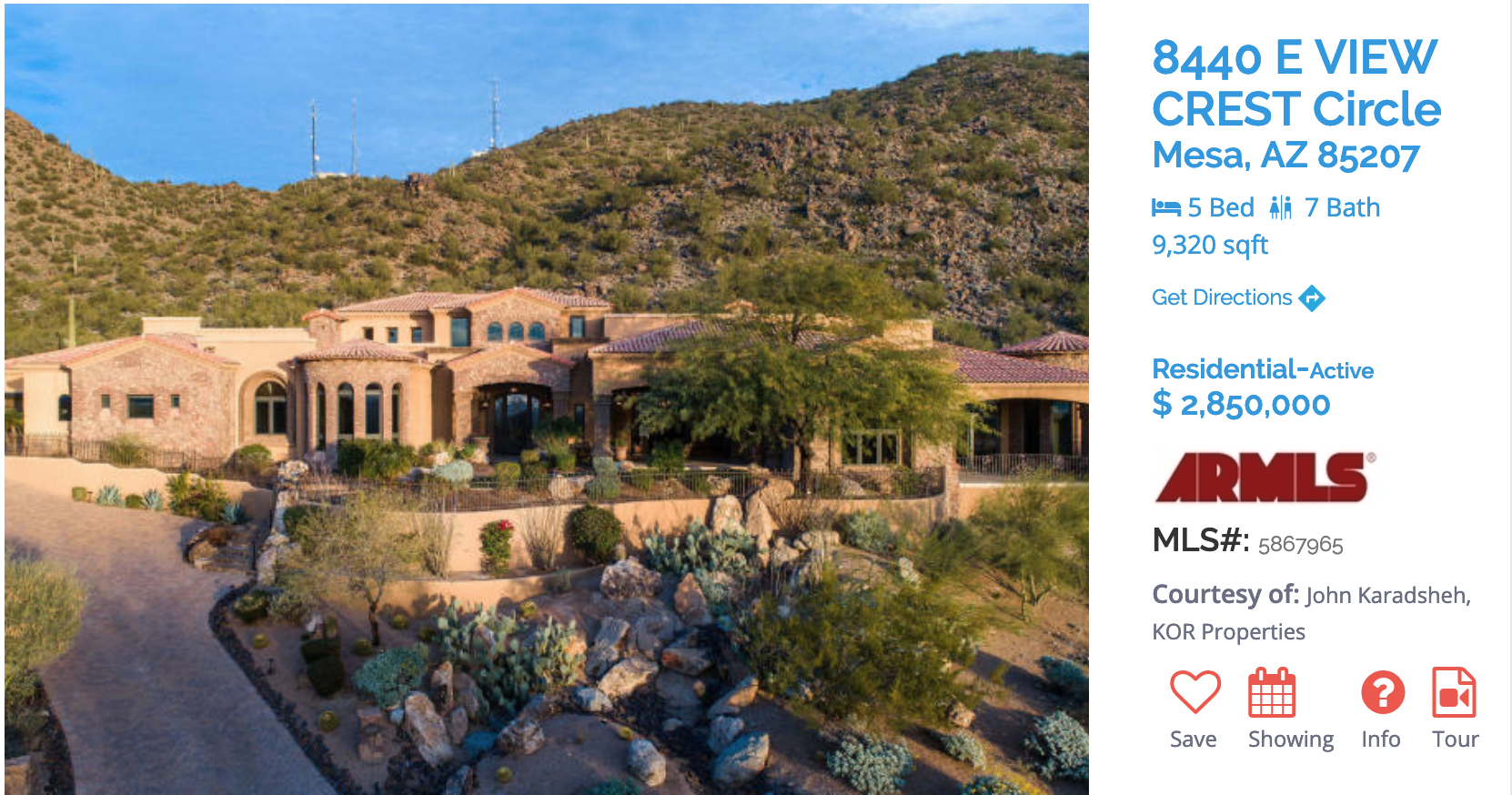 FEATURED MESA HOME