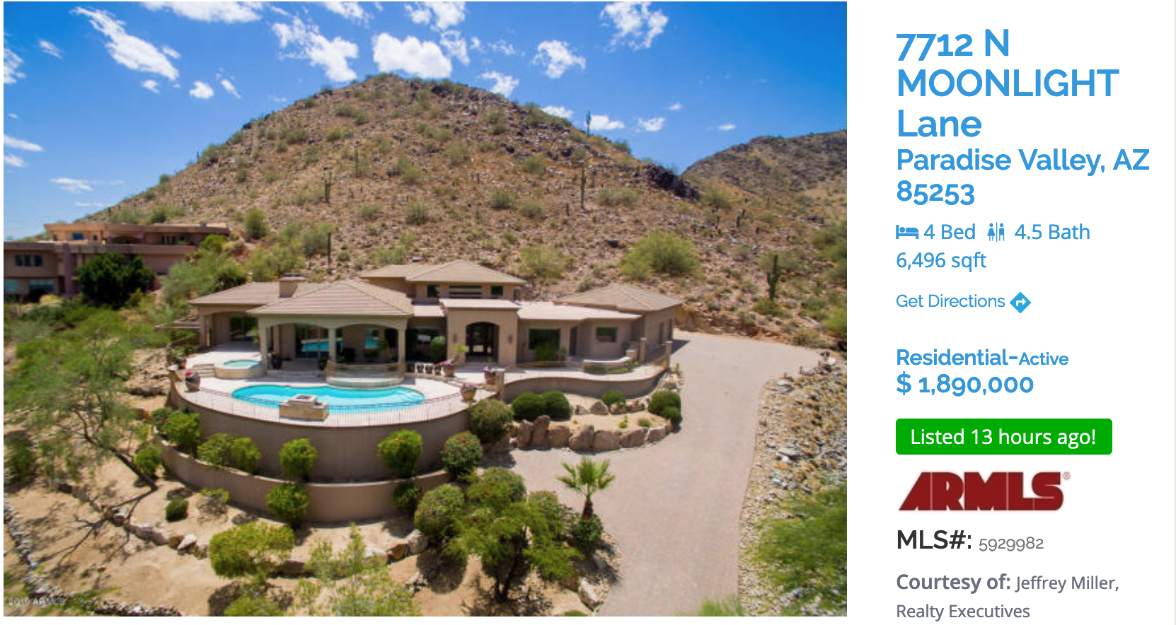 PARADISE VALLEY FEATURED HOME