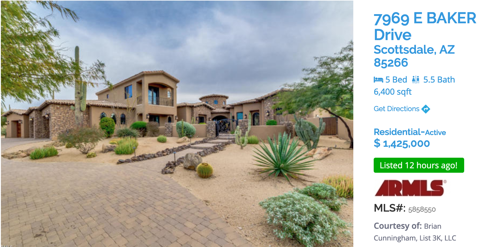 SCOTTSDALE FEATURED HOME