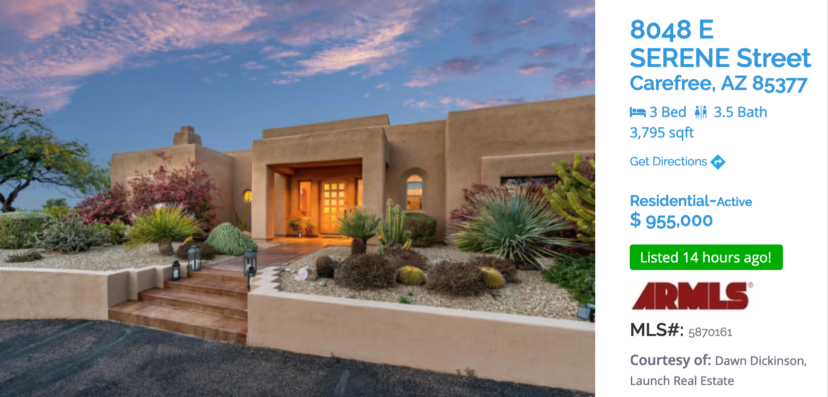 CAREFREE FEATURED HOME