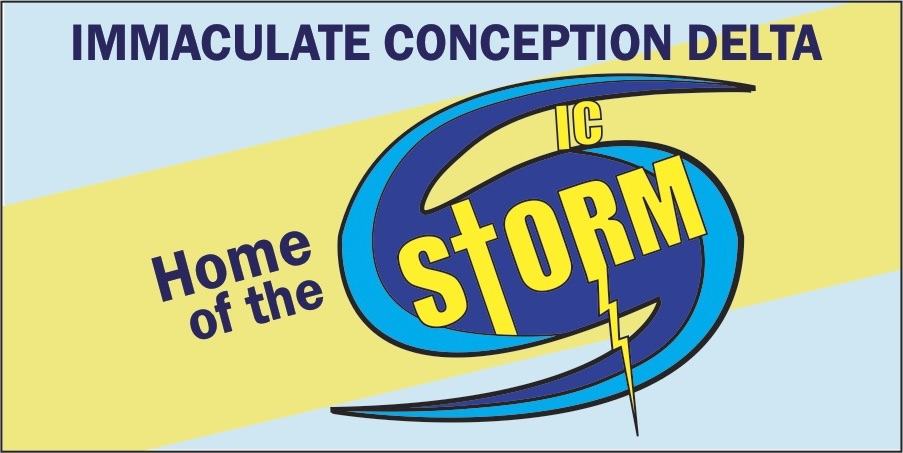 Immaculate Conception Storm logo