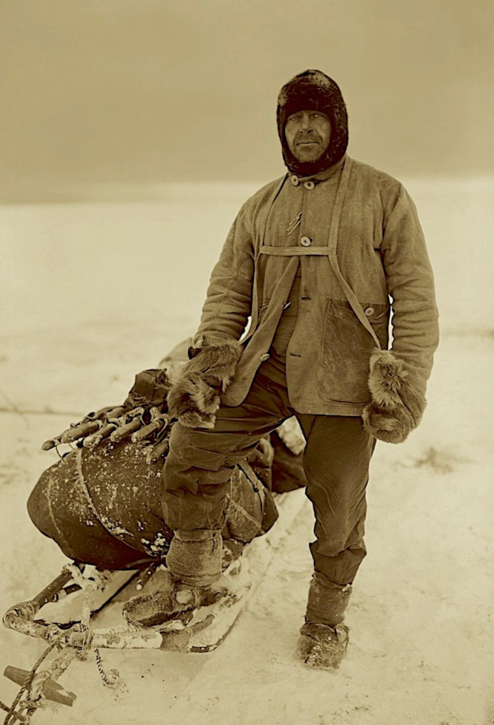 Captain Robert Falcon Scott. 1910-1913.