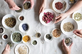 Plants as Medicine - Dr. Bethany Tennant will lead us in a botanical medicine workshop through an herbal tea tasting and blending experience. You will learn how different herbs benefit your health and take home your own, Sereni-tea blend.