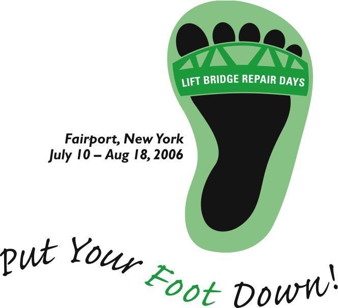 When the liftbridge went up for repairs in the summer of 2006, we put our foot down for fun! Our six-week campaign of promotions, concerts and movies on Main Street, a pub crawl, and more, kept feet on the street and in shops, stores, and restaurants despite automobile traffic being disrupted. In fact, merchants reported that sales were up year-over-last for the same time period.